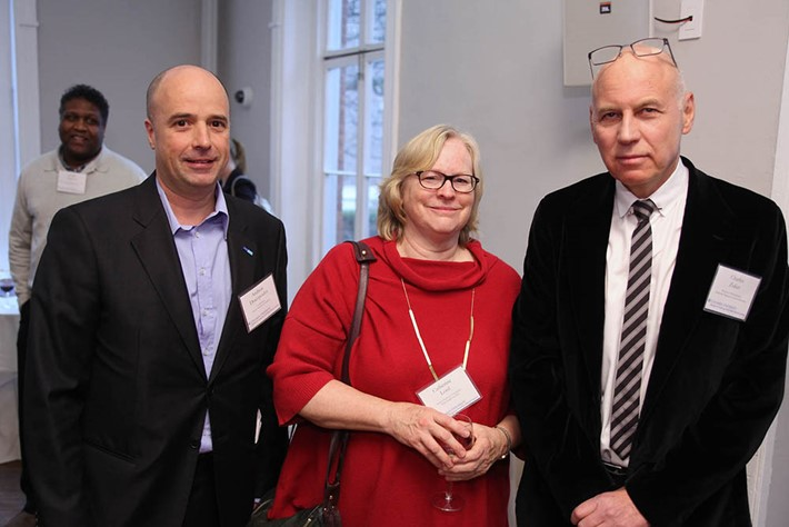 Andreas Dracopoulos, Dr. Catherine Lord, Dr. Charles Zuker - Source: Michael Dames