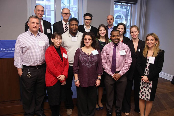 Representatives from SNF, the Zuckerman Institute and the Teacher-Scholar Program - Source: Michael Dames