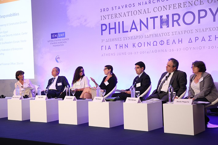 Panel on the private sector and its responsibilities - Source: Marilena Katsini