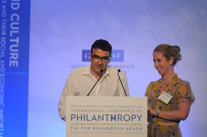 Lenia Vlavianou, Director of Public Affairs, SNF, 