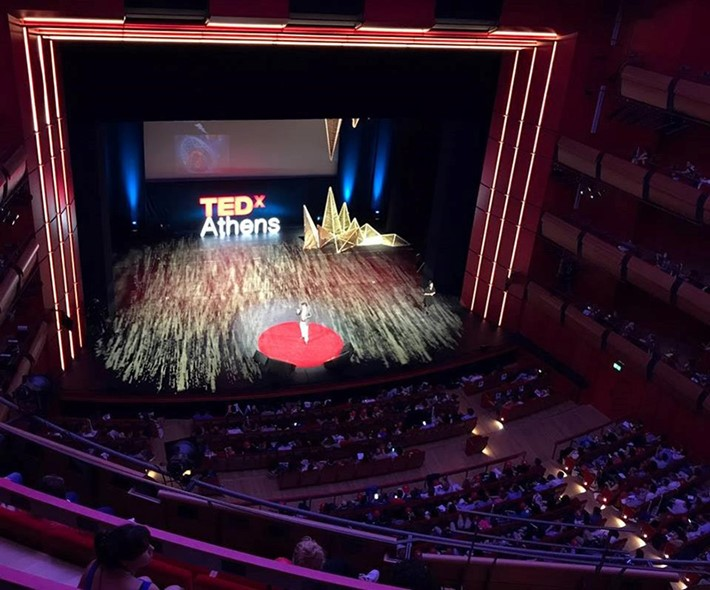 TEDxAthens 2017 | Saturday 13/5 - Source: Stavros Niarchos Foundation Cultural Center (SNFCC)