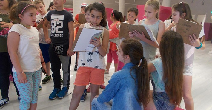 School Visit: 19th Primary School of Kalamata | Friday 5/5- Source: Stavros Niarchos Foundation Cultural Center (SNFCC)
