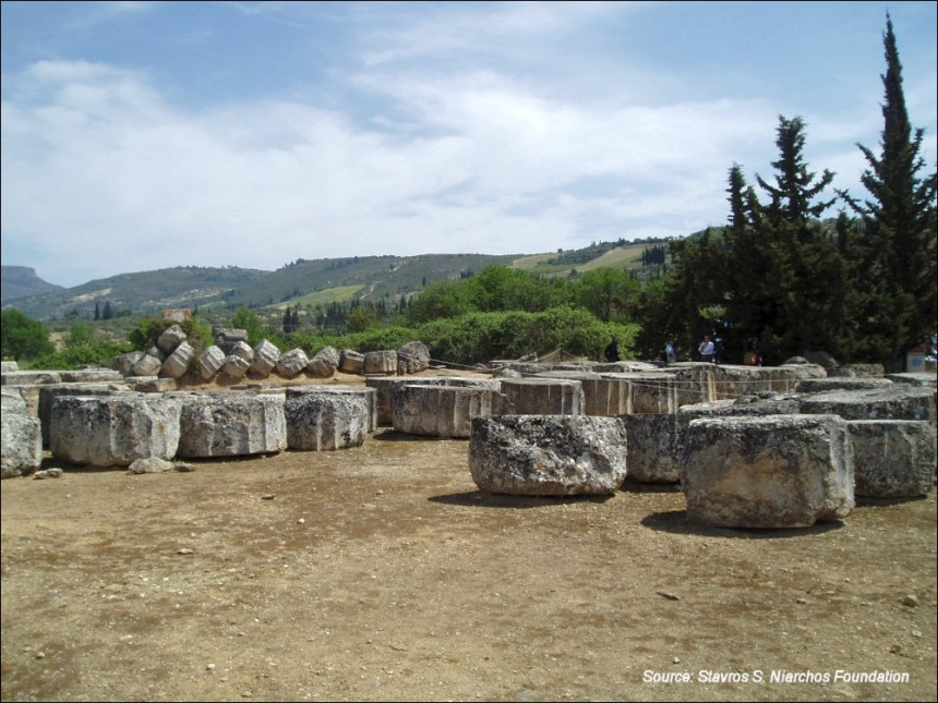 View of the Ancient Nemea