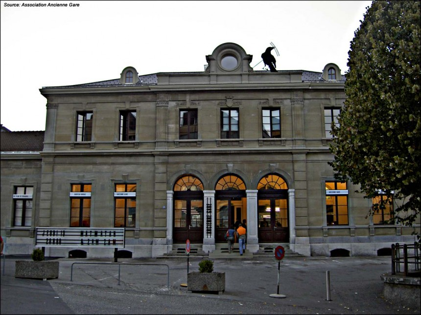 The old station in Fribourg
