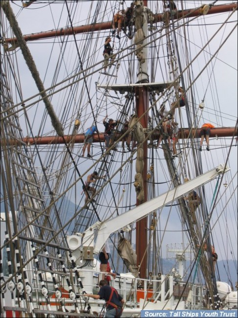 The tall ship