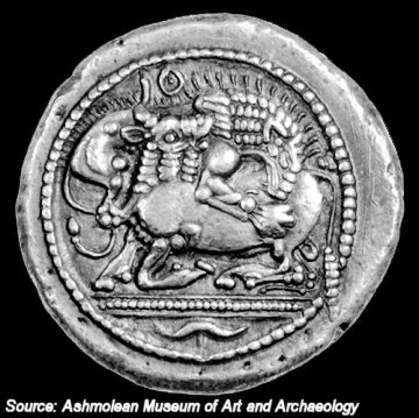 Tetradrachm of Akanthos c.480 BC