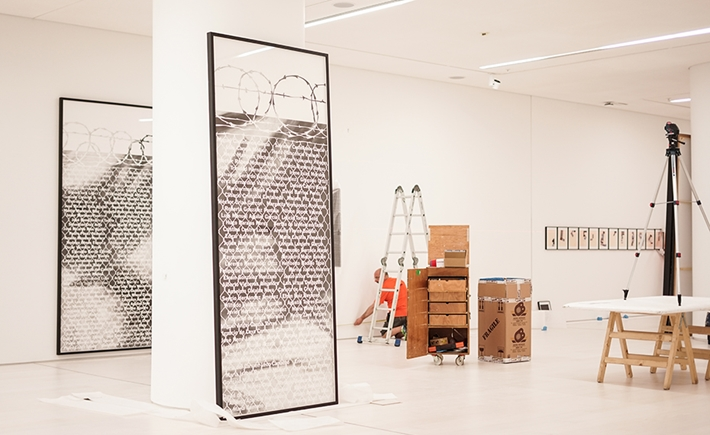 Installation of the permanent Collection - Source: Katerina Paraskeva