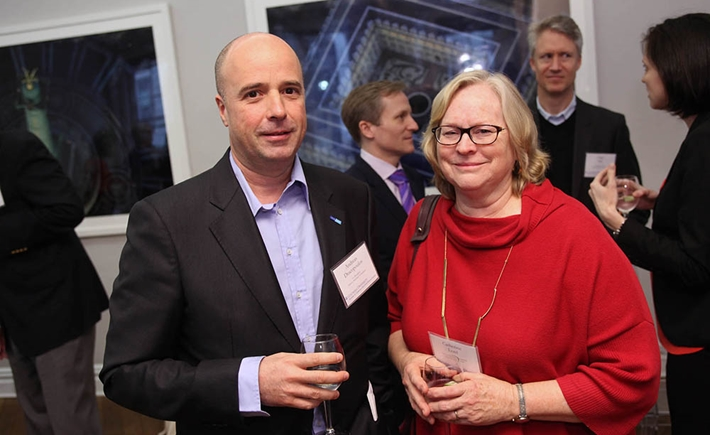 Andreas Dracopoulos, Dr. Catherine Lord - Source: Michael Dames