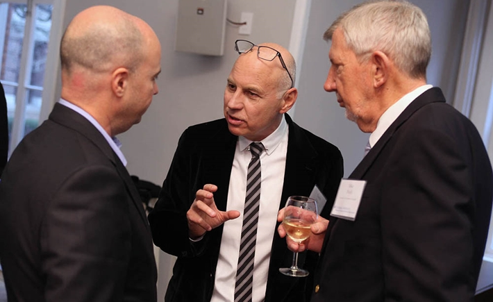 Andreas Dracopoulos, Dr. Charles Zuker, Mike Purdy - Source: Michael Dames