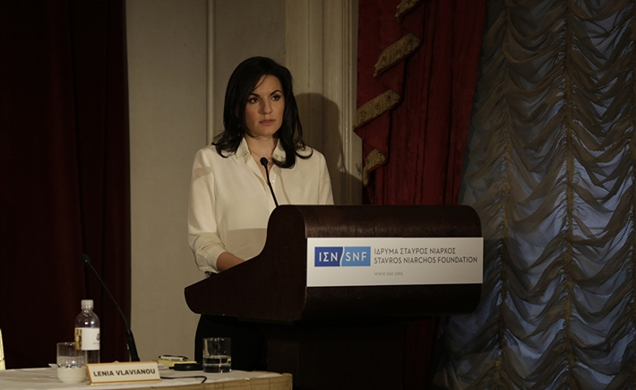 Olga Kefalogianni, Minister of Tourism of the Hellenic Republic -Source: Alexandros Lambrovassilis