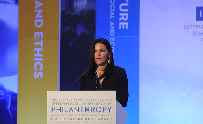 Olga Kefalogianni, Minister of Tourism of the Hellenic Republic - Source: Marilena Katsini