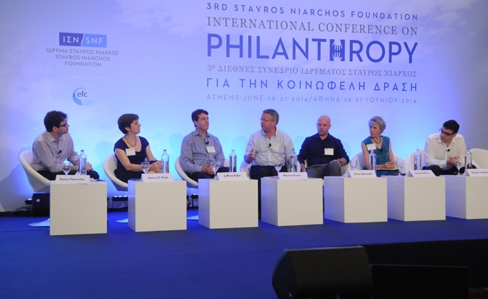 Panel on the ethical dimensions of philanthropic giving - Source: Marilena Katsini