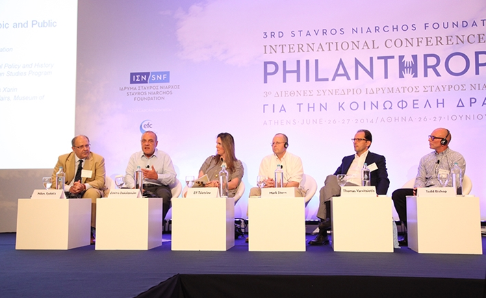 Panel on the conflict between philanthropic and public interests - Source: Marilena Katsini
