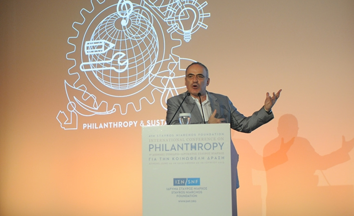 Garry Kasparov – Chairman, Kasparov Chess Foundation - Source: Marilena Katsini