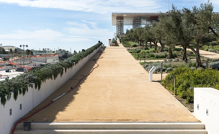 Pathway of the Stavros Niarchos Park / Source: Yiorgis Yerolymbos