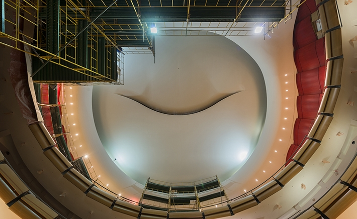 Greek National Opera. The dome / Source: Yiorgis Yerolymbos