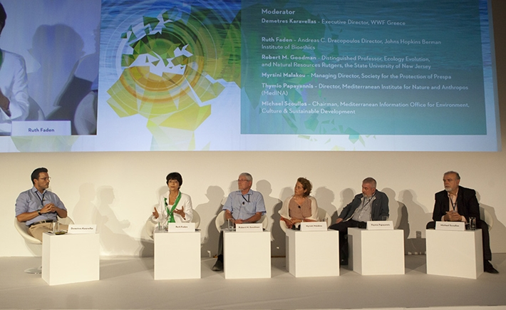 Panelists discuss the Mediterranean region and its environmental challenges