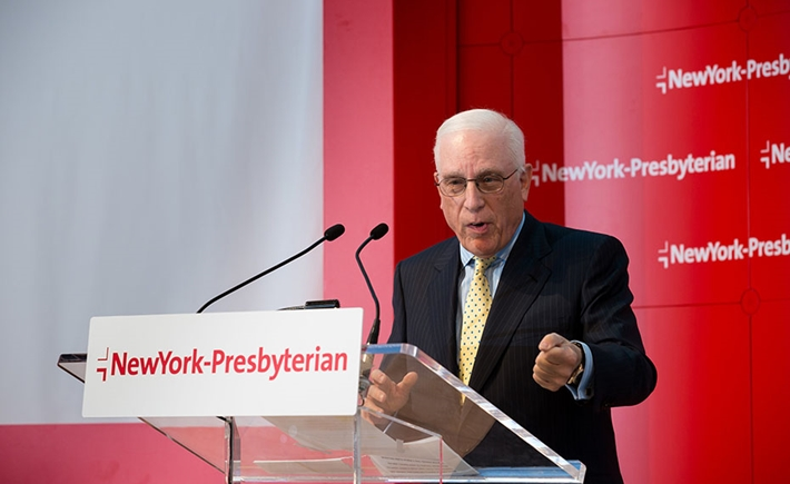 Peter Kalikow, Vice Chairman, NewYork-Presbyterian Board of Trustees - Πηγή: 4 Eyes Photography.