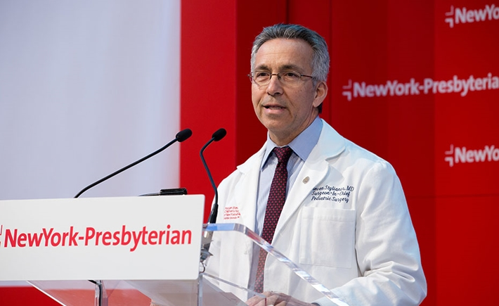 Steven Stylianos, M.D., Surgeon-in-Chief, NewYork-Presbyterian Morgan Stanley Children's Hospital - Πηγή: 4 Eyes Photography