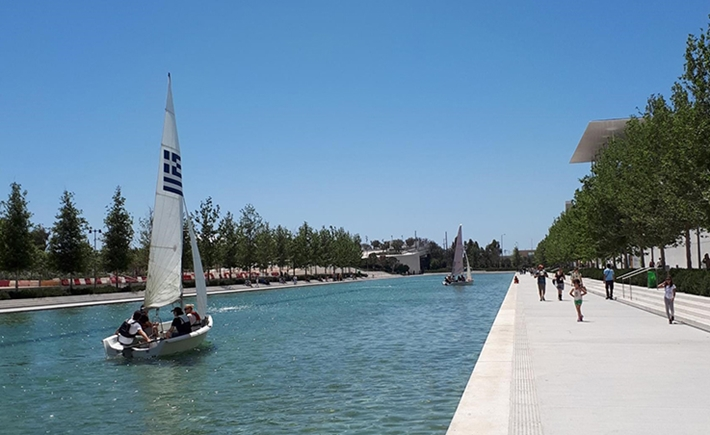 Sports and Wellness: Kayaking at the Canal | Sunday 14/5 - Source: Stavros Niarchos Foundation Cultural Center (SNFCC)