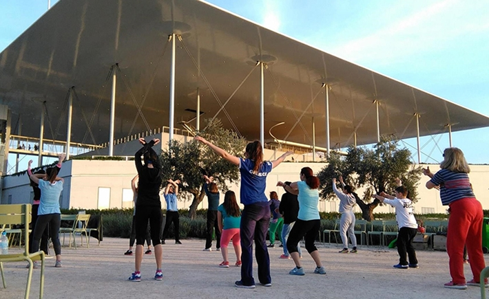 Sports and Wellness: Tai Chi | Tuesday 2/5- Source: Stavros Niarchos Foundation Cultural Center (SNFCC)