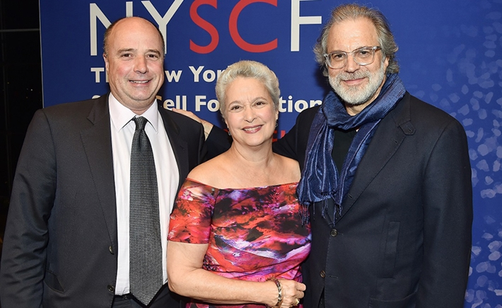Andreas Dracopoulos; Susan Solomon, Clifford Ross - Source: Karen Cattan